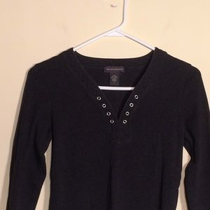 Banana Republic S Ladies Top. Dark Gray